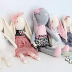 PERSONALISED DOLLS AND BUNNIES