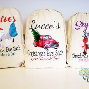 MINI SANTA SACKS