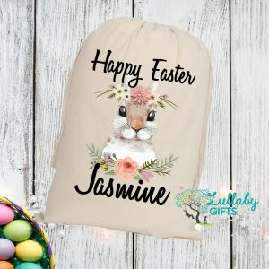 Easter mini sacks lullaby gifts easter bunny blossom mini sack negle Image collections