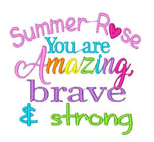 Amazing/Brave